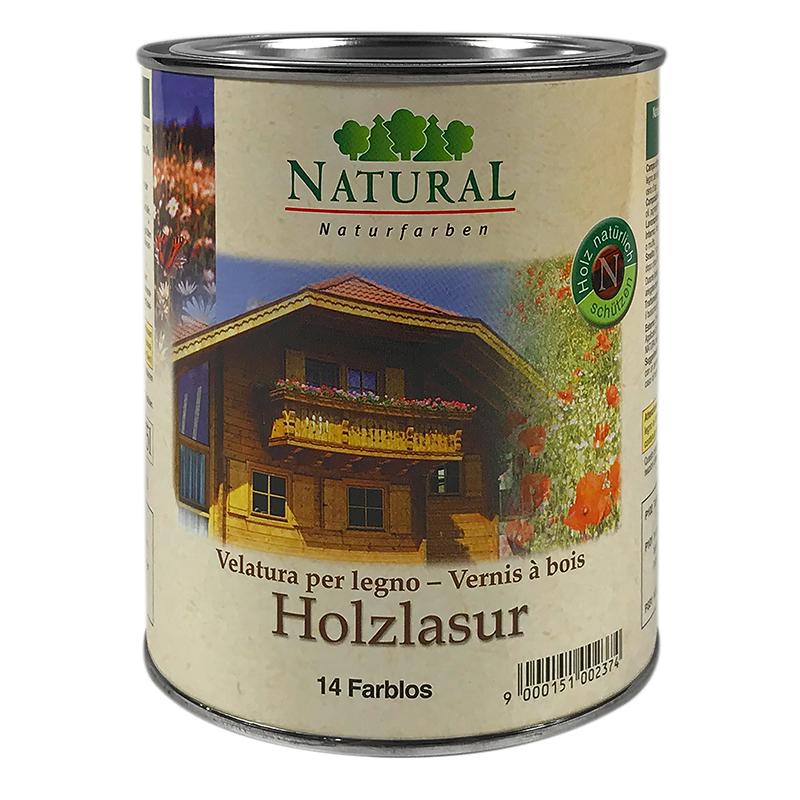 Natural Holzlasur 0,75l » Naturalfarben.at Onlineshop
