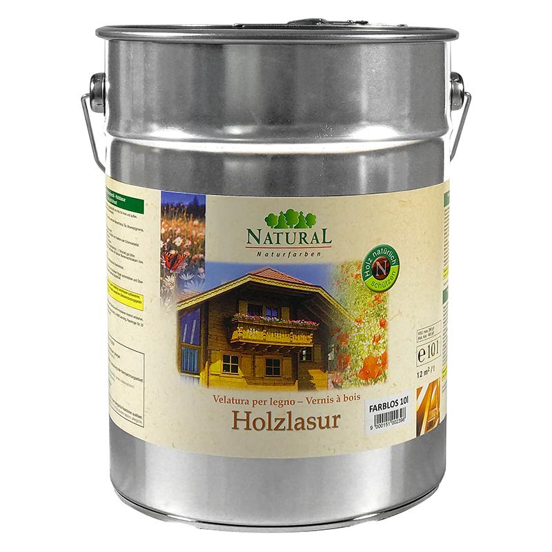 Natural Holzlasur 10l » Naturalfarben.at Onlineshop