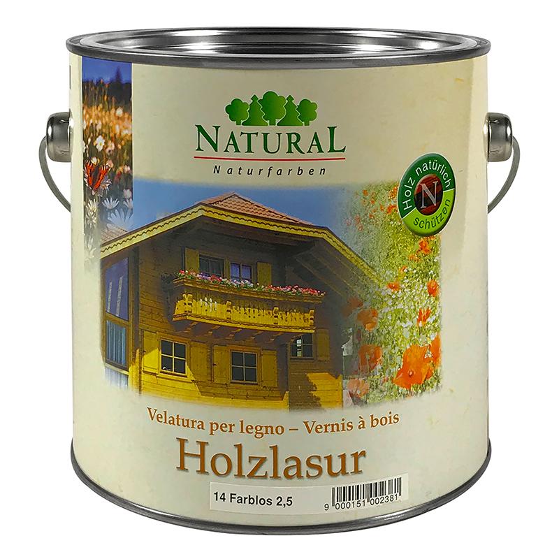 Natural Holzlasur 2,5l » Naturalfarben.at Onlineshop