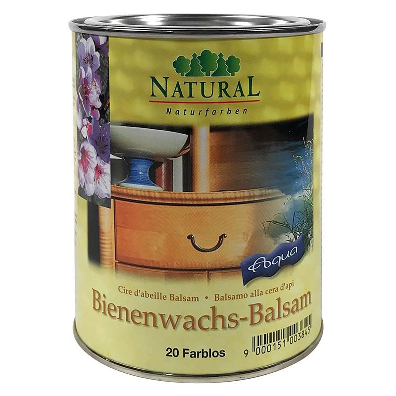 Natural Bienenwachsbalsam Aqua 0,75l » Naturalfarben.at Onlineshop