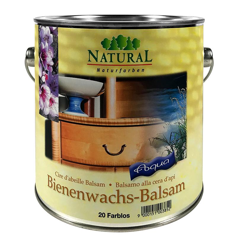 Natural Bienenwachsbalsam Aqua 2,5l » Naturalfarben.at Onlineshop
