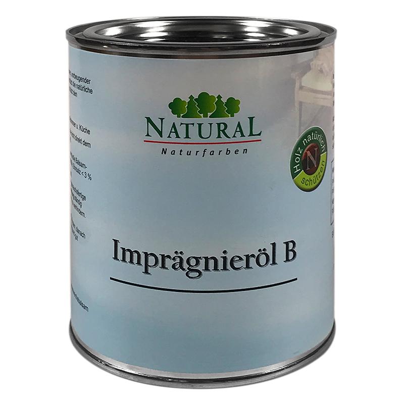 Natural Imprägnieröl B 0,75l » Naturalfarben.at Onlineshop