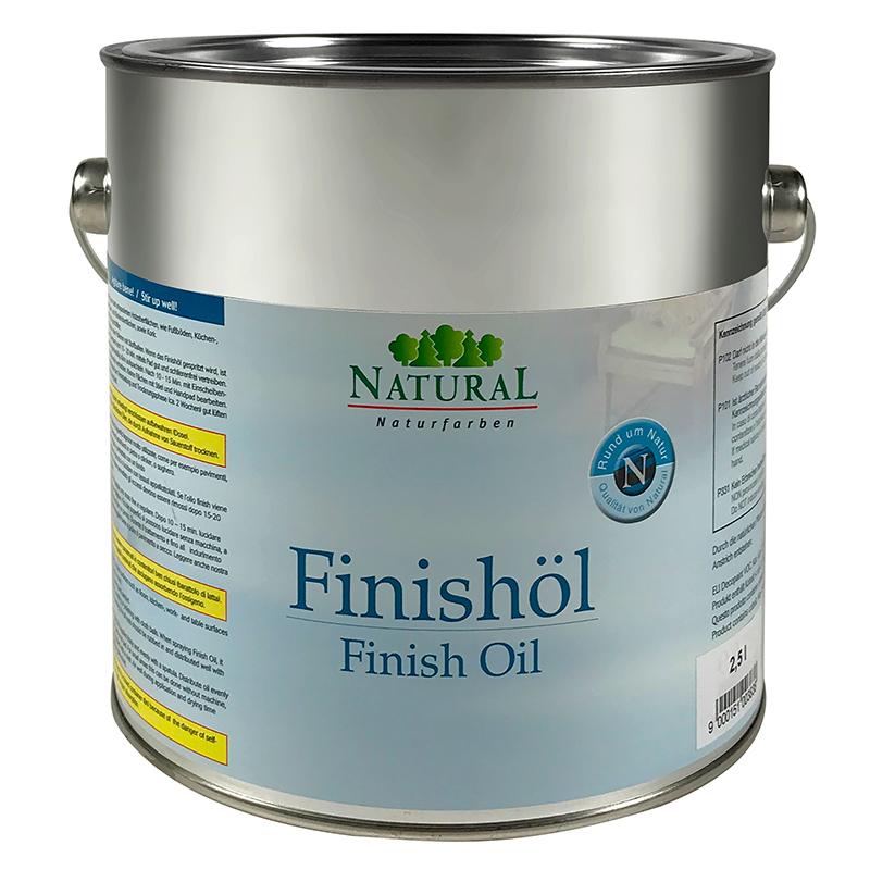 Natural Finish-Öl 2,5l » Naturalfarben.at Onlineshop