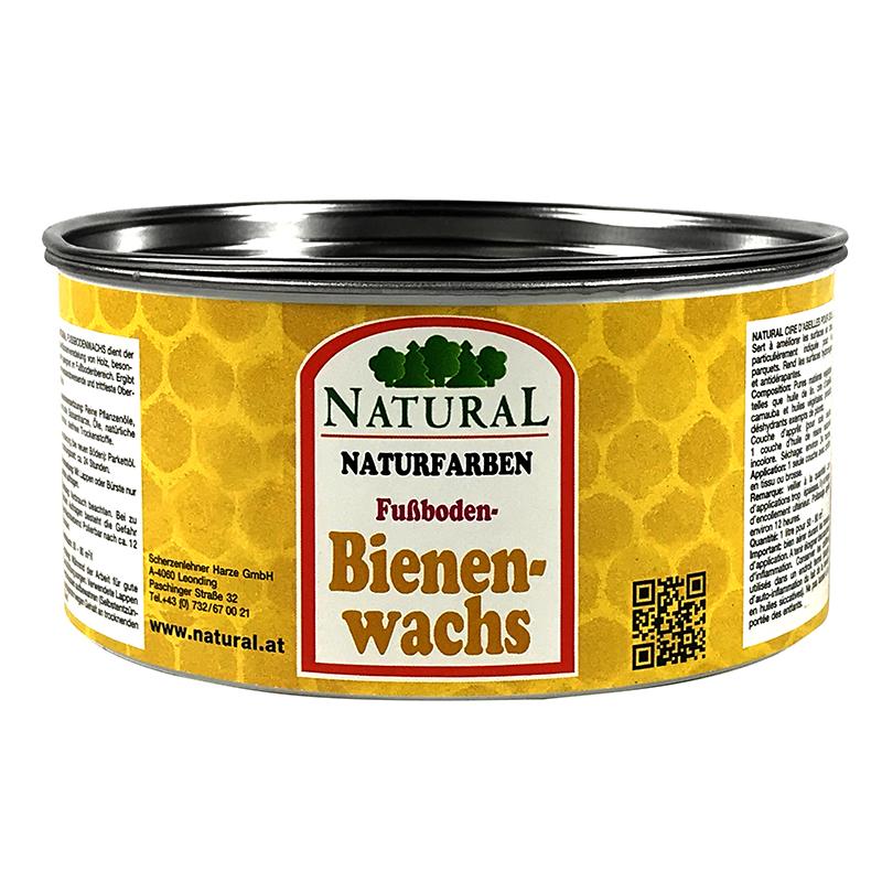 Natural Fußboden-Bienenwachs 0,4l » Naturalfarben.at Onlineshop