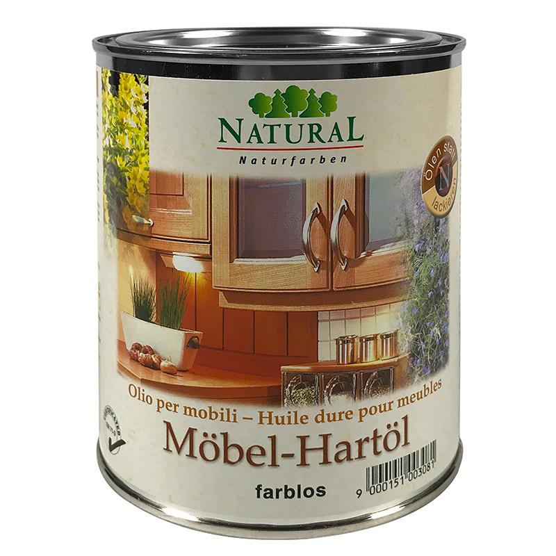 Natural Möbel-Hartöl 0,75l » Naturalfarben.at Onlineshop