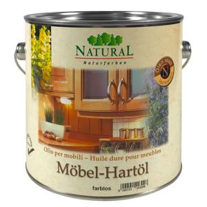 Natural Möbel-Hartöl 2,5l » Naturalfarben.at Onlineshop