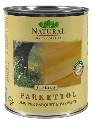 Natural Parkettöl & Fußbodenöl 0,75l » Naturalfarben.at Onlineshop