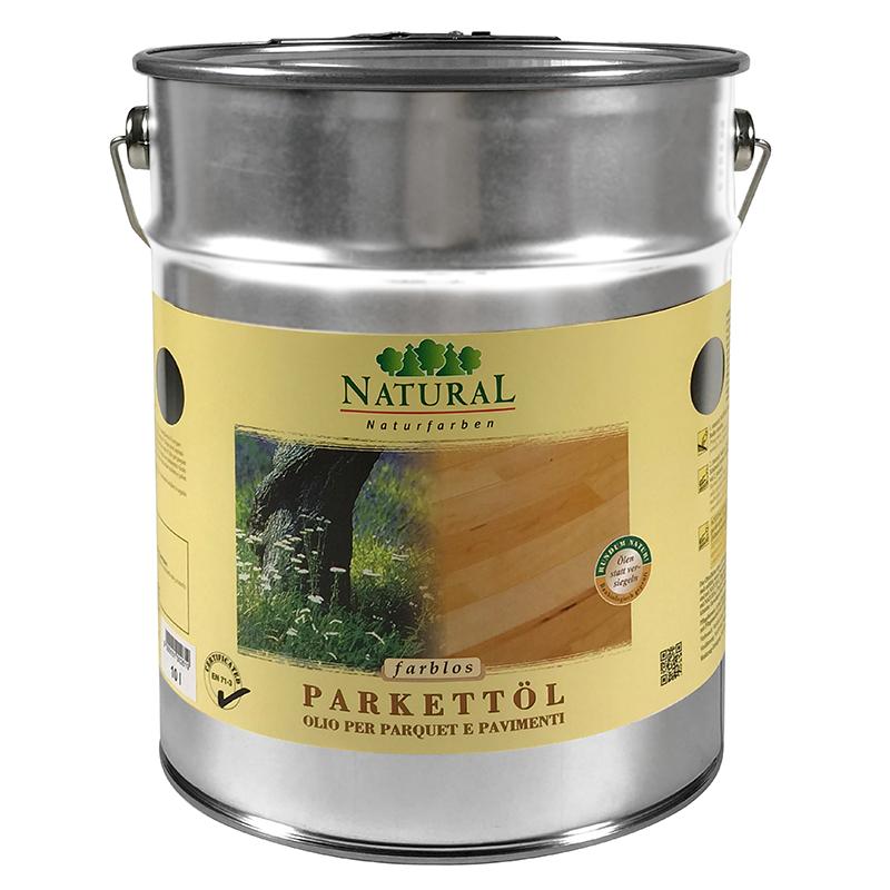 Natural Parkettöl & Fußbodenöl 10l » Naturalfarben.at Onlineshop