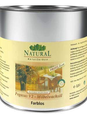 Natural Pegasus V2 Möbelwachsöl 2,5l » Naturalfarben.at Onlineshop