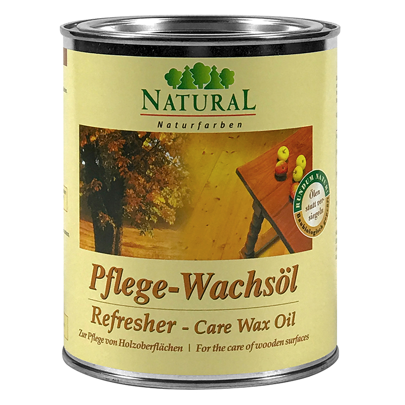 Natural Pflegewachsöl Refresher 0,75l » Naturalfarben.at Onlineshop