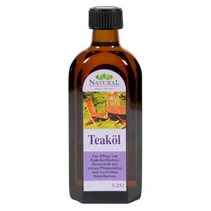 Natural Teaköl 0,25l » Naturalfarben.at Onlineshop
