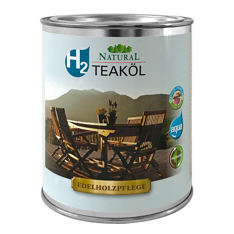 Natural H2 Teaköl » Naturalfarben.at Onlineshop