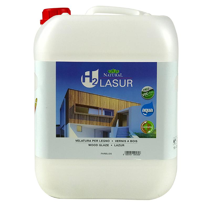 Natural H2 Lasur Aqua 10l » Naturalfarben.at Onlineshop