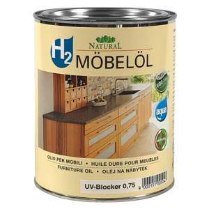 Natural h2 Möbelöl 0,75l » Naturalfarben.at Onlineshop