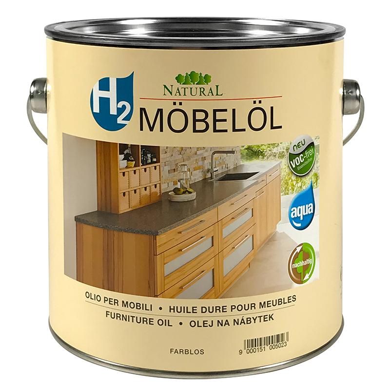 Natural h2 Möbelöl 2,5l » Naturalfarben.at Onlineshop
