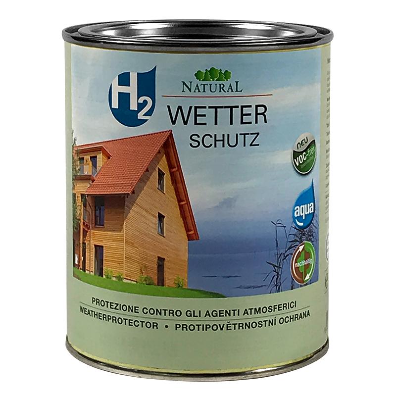 Natural H2 Wetterschutz 0,75l » Naturalfarben.at Onlineshop