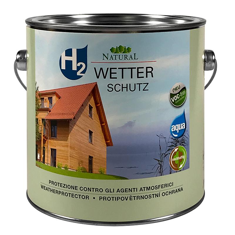 Natural H2 Wetterschutz 2,5l » Naturalfarben.at Onlineshop