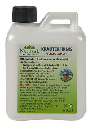 Natural Kräuterfirnis 0,5l » Naturalfarben.at Onlineshop