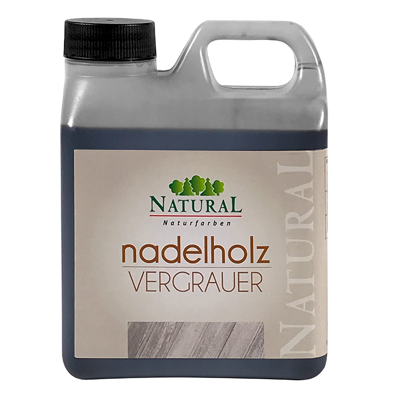 Natural Nadelholz Vergrauer 950ml » Naturalfarben.at Onlineshop