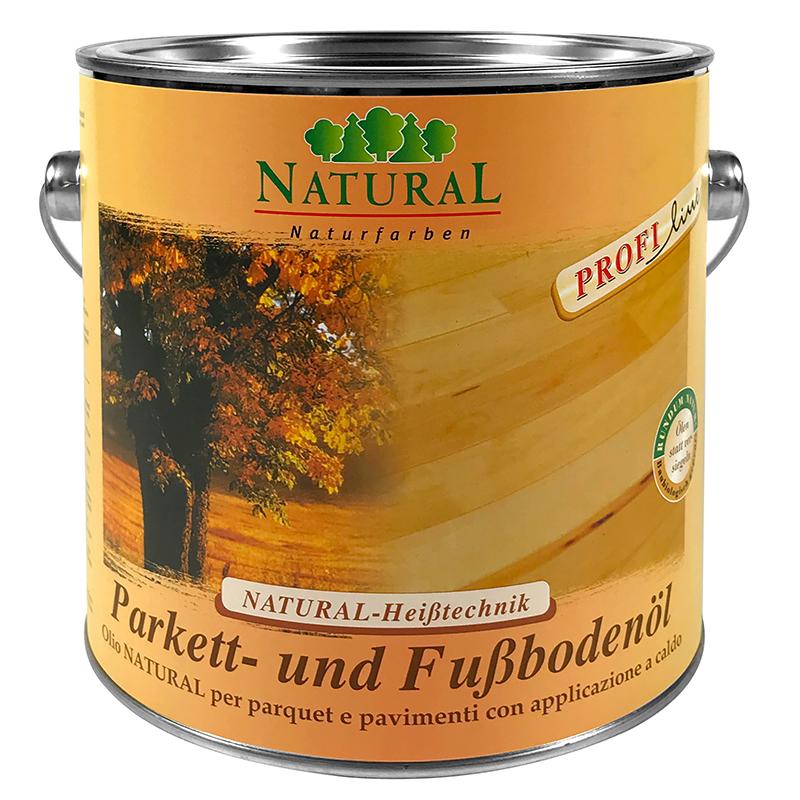 Natural Parkettöl & Fußbodenöl 2,5l » Naturalfarben.at Onlineshop