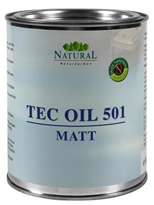 Natural Tec Oil 501 matt 0,75l » Naturalfarben.at Onlineshop