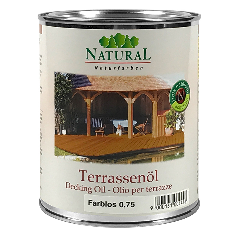 Natural Terrassenöl 0,75l » Naturalfarben.at Onlineshop