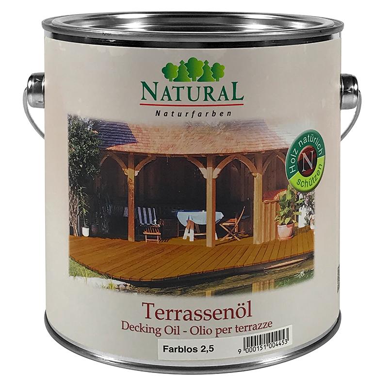 Natural Terrassenöl 2,5l » Naturalfarben.at Onlineshop
