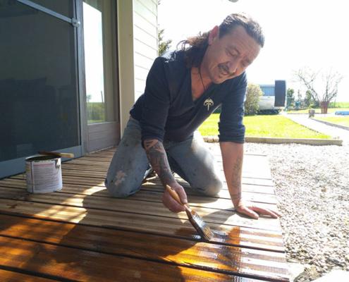 Schadstofffreie Farbe für Holz - Zufriedene Kunden